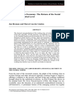 Breman_Linden_2014_Informalizing the Economy- The Return of the SocialQuestion at a Global Level