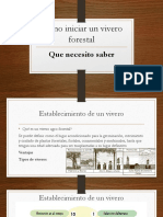 Como Iniciar Un Vivero Forestal