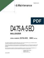 O&M D475A-5EO 30001-UP TEN00132-00D pdf | High Voltage | Safety