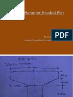 Design of Hammer Headed Pier
