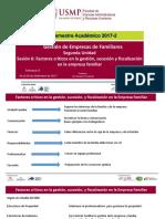 Sesión 6 Factores Criticos GEF 2017 -II
