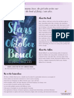 The Stars at Oktober Bend Discussion Guide