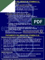 Tratamiento Del Deficit de VitaminaD