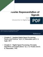 CoE 121 Fourier Representation of Signals