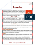 Hoja Informativa # 1.Prevención de Incendios. Mayo 2018
