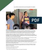 Dirección de Trabajo Continúa Asesorando Para Búsqueda de Empleo