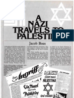 """Boas Jacob. """"A Nazi Travels to Palestine.""""  History Today. Vol. 30, issue 1 (1980) pp. 33-38."""