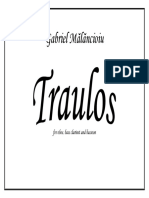 Traulos Complete Score and Parts