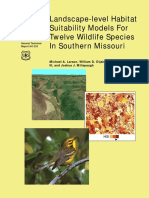 2003_Landscape level habitat suitability models for twelve species in southern Missouri.pdf