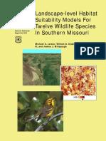 2003_Landscape level habitat suitability models for twelve species in southern Missouri.pdf