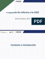 Propuesta Reforma Senescyt