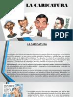 Diapositivas de La Caricatura