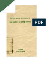 BUONARROTI, MIGUEL ÁNGEL. Sonetos completos.doc
