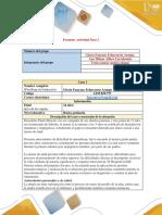 Unidad 2 Paso 2 Desarrollar El Estudio Del Caso ACCION PSICOSOCIAL
