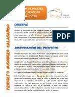 Proyecto Futrú Promoción de La Mujer Discapacidad 5