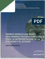 JHA-Tiempo, Espacio, Sociedad, Una Perspectiva Epistemologica Para La Interpretacion de La Sociedad y El Estado