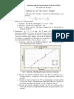 Estatística Aplicada à Engenharia de Produção