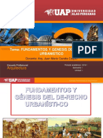 Primera Unidad Legislacion Urbana 12.03.2018