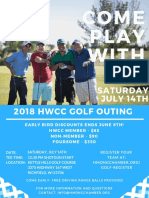 flyer-golf outing 2018  2