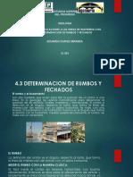 4.3 DETERMINACION DE RUMBOS Y FECHADOS.pptx