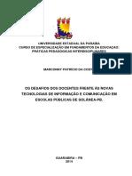 PDF - Marconny Patrício Da Costa