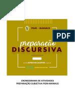 Cronograma Curso Subjetiva Manaus