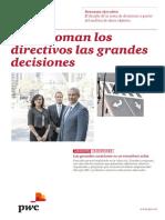 Como Toman Los Directivos Las Grandes Decisiones