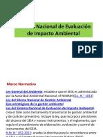 sistema nacional de evaluación de impacto ambiental