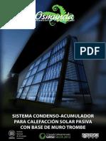 Sistema Condenso-Acumulador Para Calefacción Solar Pasiva