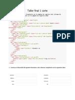 1 Construya El Siguiente Formulario en La Página de Registro Del Sistema de Información Específicamente en La Página de Registro