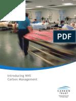 CTX606 - NHS Carbon Management Brochure