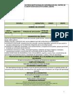 Formato de Planeacion