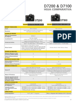 D7200-D7100 Comparison Sheet Sp