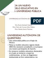 Hacia Un Nuevo Modelo Educativo