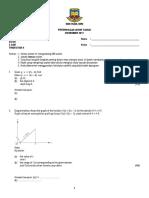 Soalan Addmath F4 Paper 1 (AR4)