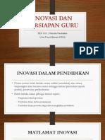 Inovasi Dan Persiapan Guru