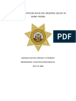 DA's Report in the Officer Involved Shooting of Mario Woods