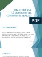 Contratos a Fines Que Se Distancian Del Contrato