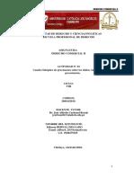DERECHO COMERCIAL II  ACT. N° 1