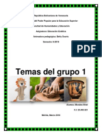 Temas Del Grupo #1 (Individual)
