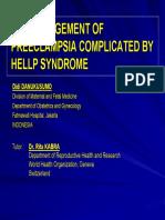 B48. Preeclampsia HELLP