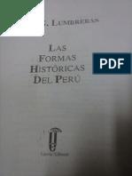 Formas Históricas Del Perú, El Nacimiento de La Civilización - Luis G. Lumbreras