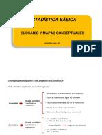 ESTADISTICA Basica Glosario Mapas 2018