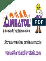 Logotipo Ambatol y Mascota