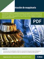 Certificacion MLT I Técnico en Lubricación de Maquinaria