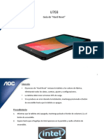 Aoc TabletU703 - Guía de Hard Reset