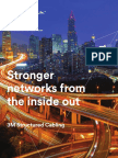 3M Structured Cabling Brochure Catalog