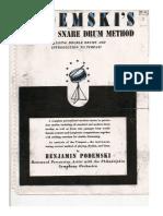Podemsky_s Standard Snare Drum Method