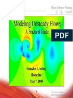 FLUENT Modeling Unsteady Flows