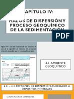 CAPÍTULO-IV Halos de Dispersión en Sist. Sedimentarios